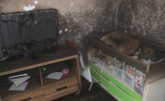 Yozgat'ta bir evde çıkan yangında 4 yaşında ki çocuk feci şekilde can verdi