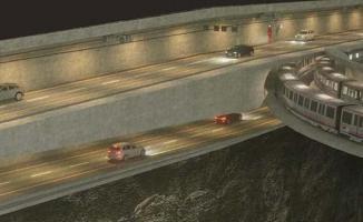 """3 Katlı İstanbul Tünel Projesi""""nin plan değişikliği kabul edildi"""