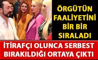 Adnan Oktar davasında itirafçı olarak serbest bırakılan Beril Koncagül'ün ifadeleri ortaya çıktı