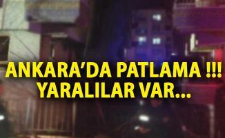 Ankara'da Şiddetli Patlama! Yaralılar Var- Ankara Son Dakika Haberi