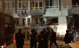 Ankara Pursaklar'da doğalgaz kaynaklı patlama meydana geldi