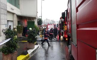 Beyoğlu'nda bulunan bir otelde yangın çıktı