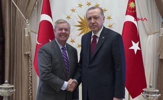 Cumhurbaşkanı Erdoğan, ABD'li senatör Graham ile görüştü