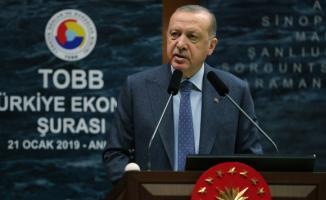 Cumhurbaşkanı Erdoğan: Münbiç'i gerçek sahiplerine teslim edeceğiz