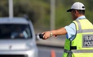 Drift Yapan Sürücüye 9 Bin 46 TL Para Cezası Kesildi