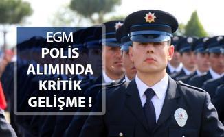EGM Polis Alımında (PÖH, POMEM, PMYO) Kritik Gelişme ! İşte Başvuru Detayları