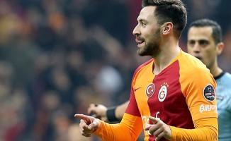 Galatasaray'ın forveti Sinan Gümüş, MKE Ankaragücü'ne karşı 2 gol kaydetti