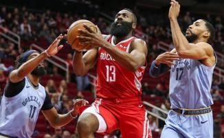 Houston Rockets, NBA'de Memphis Grizzlies'i mağlup etti