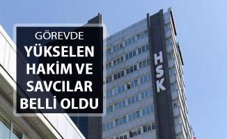 HSK Duyurdu: Görevinde Yükselen Hakim ve Savcılar Belli Oldu