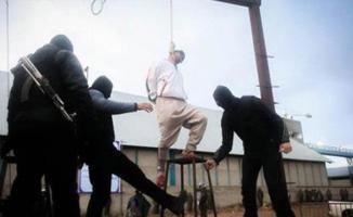 İran'da küçük bir kızı işkenceyle öldüren cani herkesin gözü önünde idam edildi