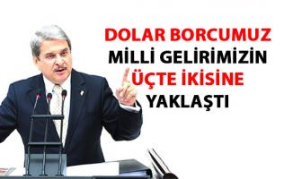 İYİ Parti Aytun Çıray, Türkiye'nin dolar dış borcu ile ilgili flaş açıklamalarda bulundu