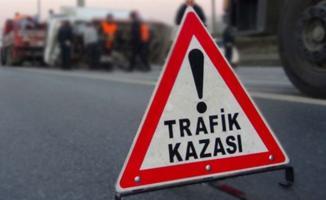 Konya'da Yolcu Otobüsü Kazası ! 4 Kişi Yaralandı