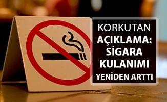 Korkutan Açıklama Geldi: Sigara Kullanımı Yeniden Yükseldi