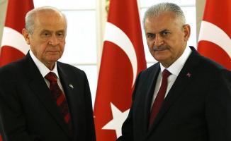 MHP Lideri Bahçeli TBMM Başkanı Yıldırım'ı Ziyaret Edecek