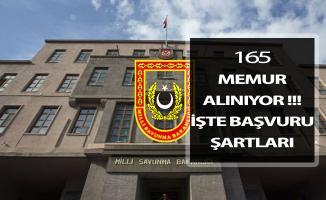 Milli Savunma Bakanlığı (MSB) 165 Kamu Personeli Alımı Yapıyor