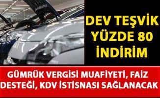 Oyak Renault'ta vergi, faiz indirimi ve KDV muafiyeti teşvik desteği geldi