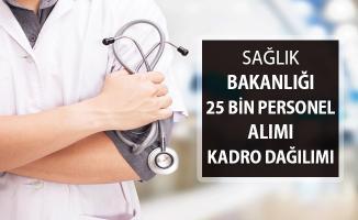 Sağlık Bakanlığı 25 Bin Kamu Personeli Alımı ! Kadro Dağılımı ve Genel Şartlar