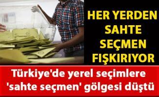 Türkiye'de yerel seçimlere 'sahte seçmen' gölgesi düştü