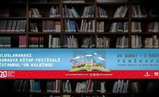 1. Uluslararası Avrasya Kitap Festivali Avrasya Gösteri ve Sanat Merkezi'nde devam ediyor