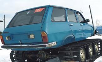 77 Model Toros'u Paletli Kar Aracına Dönüştürdüler!