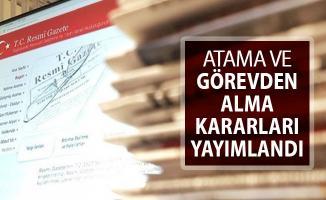 8 Şubat 2019 Tarihli Atama ve Görevden Alma Kararları Resmi Gazete'de Yayımlandı
