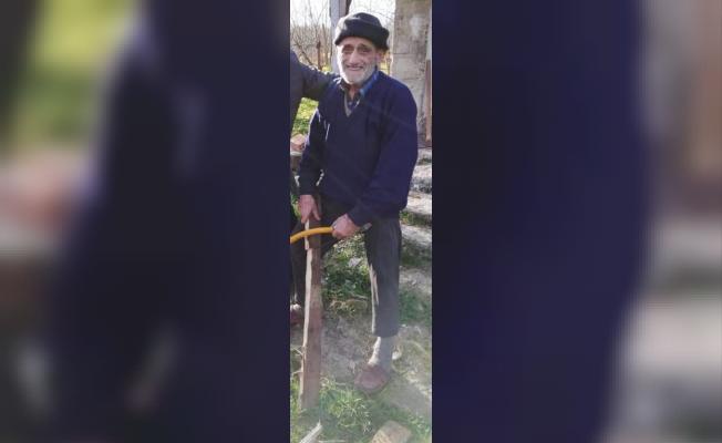 Ordu'nun Ulubey ilçesinde 90 yaşındaki Asım Yılmaz yangında öldü