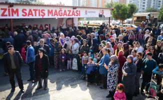 Adana'da ilk tanzim satış noktası açıldı