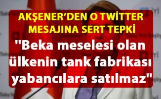 Akşener, Erdoğan'ın Twitter paylaşımına çok sert tepki gösterdi
