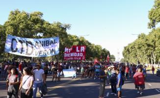 Arjantin'de ABD karşıtı protesto