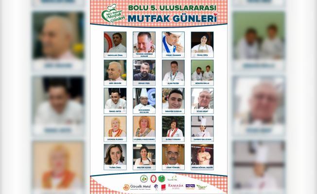 Aşçılar hünerlerini Bolu'da sergileyecek