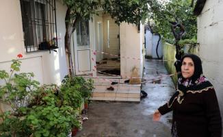 Aydın'da evin holü çöktü: 2 yaralı