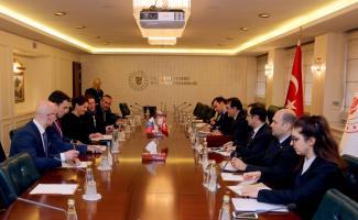 Bakan Dönmez, Slovenya Başbakan Yardımcısı Bratuşek ile görüştü