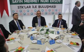 Bakan Ersoy, STK temsilcileriyle bir araya geldi