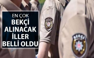 Bakan Soylu En Çok Bekçi Alınacak İlleri Açıkladı ! Haziran Ayında 30 Bin