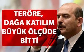 Bakan Soylu, terör örgütü PKK'ya katılımın büyük ölçüde bittiğini açıkladı