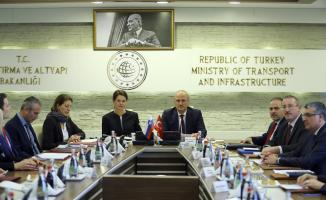Bakan Turhan, Slovenya Başbakan Yardımcısı Bratuşek ile görüştü