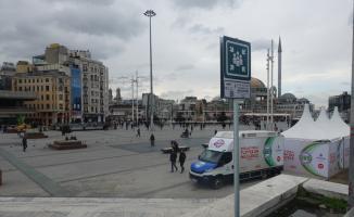 Beyoğlu'nda 42 toplanma alanı