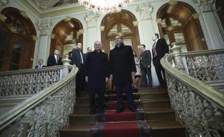 Binali Yıldırım, Yunanistan Başbakanı Çipras'ı kabul etti