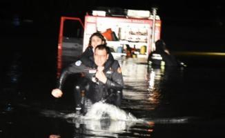 Bursa'da bir otomobilin Babasultan Barajı'na yuvarlanması sonucu 2 öldü, 3 yaralı