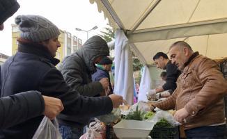 Bursa'da üç tanzim satış noktasında alışverişler başladı