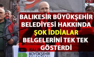 CHP'li Ensar Aytekin, Balıkesir Büyükşehir Belediyesi hakkında şok iddialarda bulundu