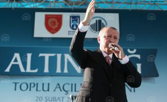 Cumhurbaşkanı Erdoğan, CHP, SP ve İYİ Partinin Kandil'den talimat aldığını iddia etti