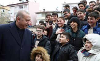 Cumhurbaşkanı Erdoğan, cuma namazını Ulu Cami'de kıldı