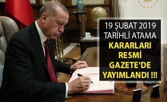 Cumhurbaşkanı Erdoğan'dan Gençlik ve Spor Bakanlığına Kritik Atamalar!