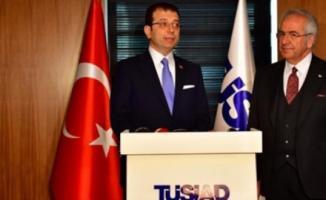 Ekrem İmamoğlu TÜSİAD'ı Ziyaret Etti