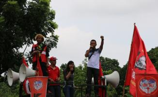 Endonezya'da ABD karşıtı gösteri