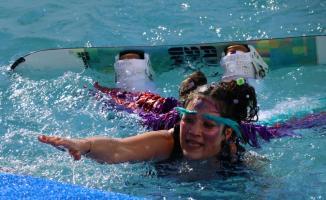 Erciyes'te Red Bull Kar Havuzu etkinliği
