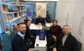 Gazetecilerden AA'ya ziyaret