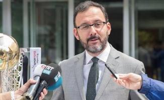 Gençlik ve Spor Bakanı Mehmet Muharrem Kasapoğlu Hatay'da iktidar dönemini değerlendirdi