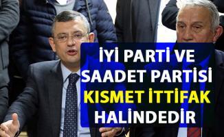 İYİ Parti ve Saadet Partisi kısmet ittifak halinde